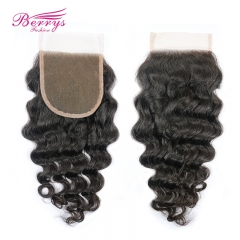 8-20inch 4x4 Lace Closure Loose Wave with Baby Hair  100% Unprocessed Virgin Human Hair