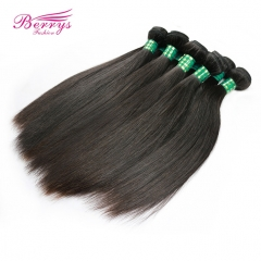 Factory Price Brazilian Straight Virgin Human Hair 10pcs/lot  10-30inch Natural Color Unprocessed High Quality Hair Extension