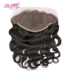 Berrys Fashion Hair Products Free Part 13x6 Body Wave Lace Frontal 100% Virgin Human Hair 130% Density