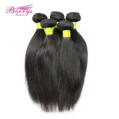 Berrys Fashion Hair 5 Bundles Malaysian Virgin Hair Straight Natural Color 100% Unprocessed Straight Virgin Hair 8-30inch