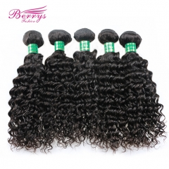 10-28inch Wholesale 5pcs/lot Brazilian Deep Wave/Curly Virgin Hair Good Quality Unprocessed Human Hair