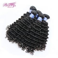 10-28inch Wholesale 5pcs/lot Indian Deep Wave/Curly Virgin Hair Good Quality Unprocessed Human Hair