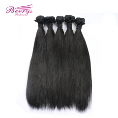 Beautiful Queen Hair Products 5pcs/lot 7A Grade Peruvian Straight Virgin Unprocessed Human Hair