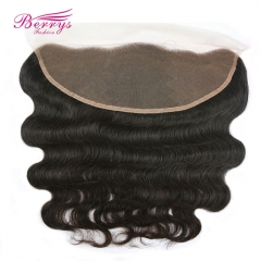 Berrys Fashion Beautiful Queen Hair Lace Frontal 13*4 Peruvian virgin hair body wave lace frontal Berrys Hair New arrival 100% virgin human hair