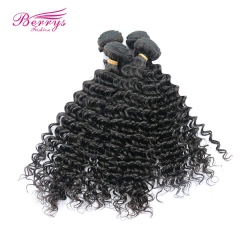 4 Bundles Combodian Remy Hair Deep Wave Unprocessed Virgin Human Hair