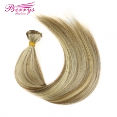 3 Pcs Berrys Fashion Hair Brazilian Straight 8#613 Color