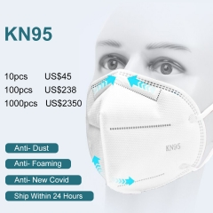 Fast Shipping wholesale KN95 N95 antivirus Disposable Earloop Face Mouth Masks 3 Layer Anti-Dust FFP3 Mondkap